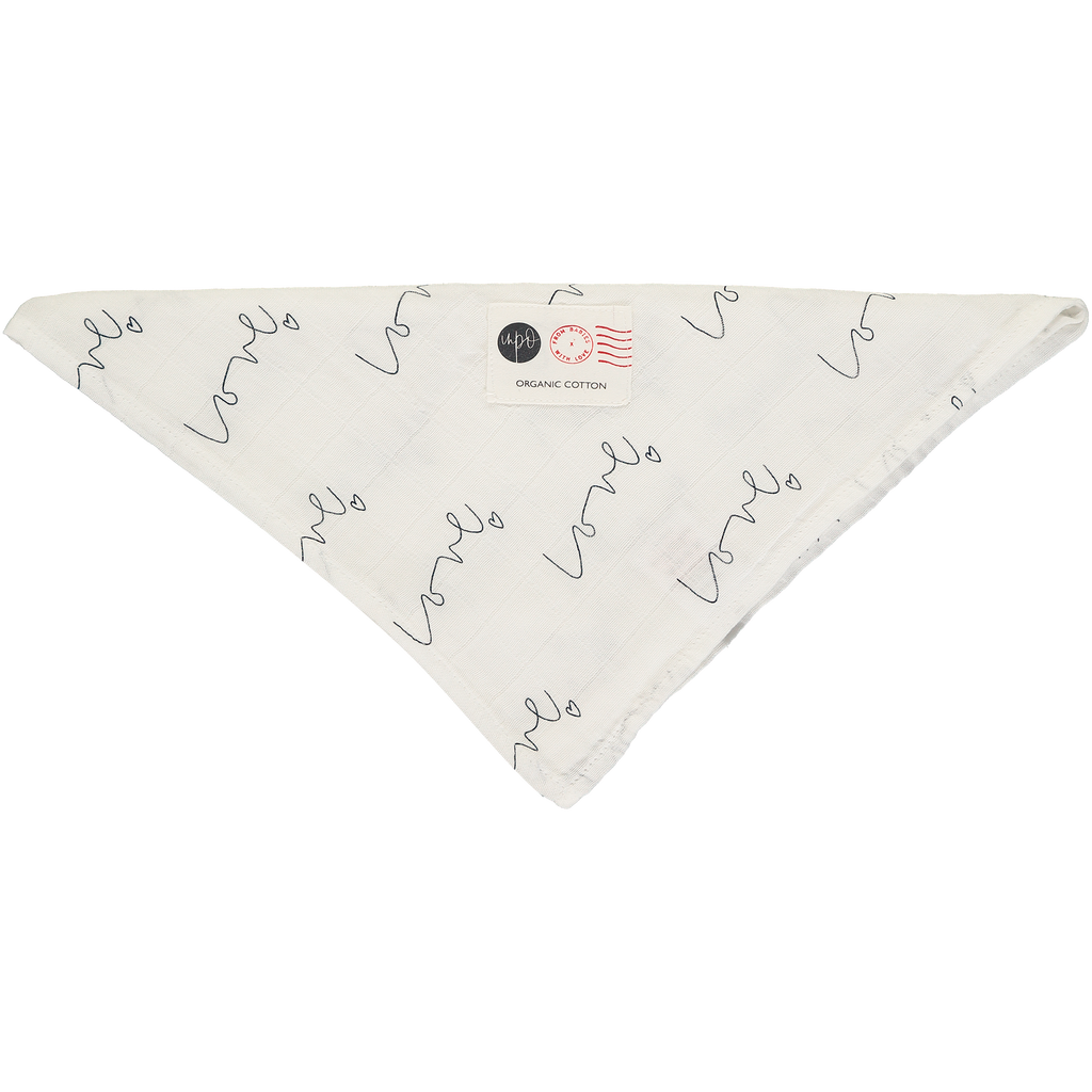 Love organic muslin square - Natural