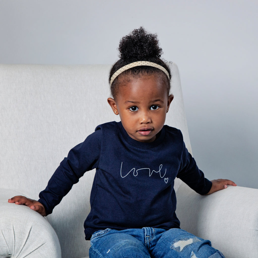 Love organic children's t-shirt - INPO x From Babies with Love