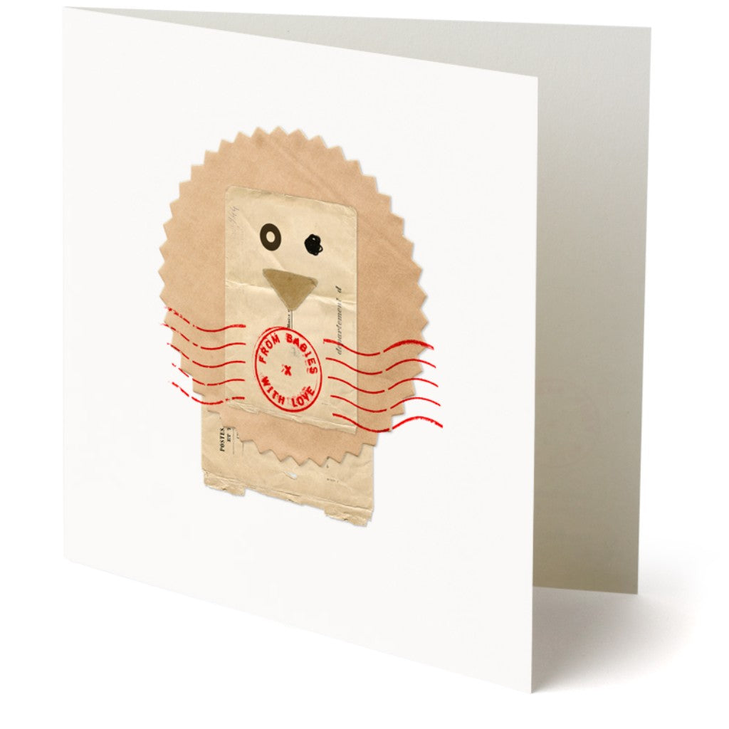 Lion greetings card