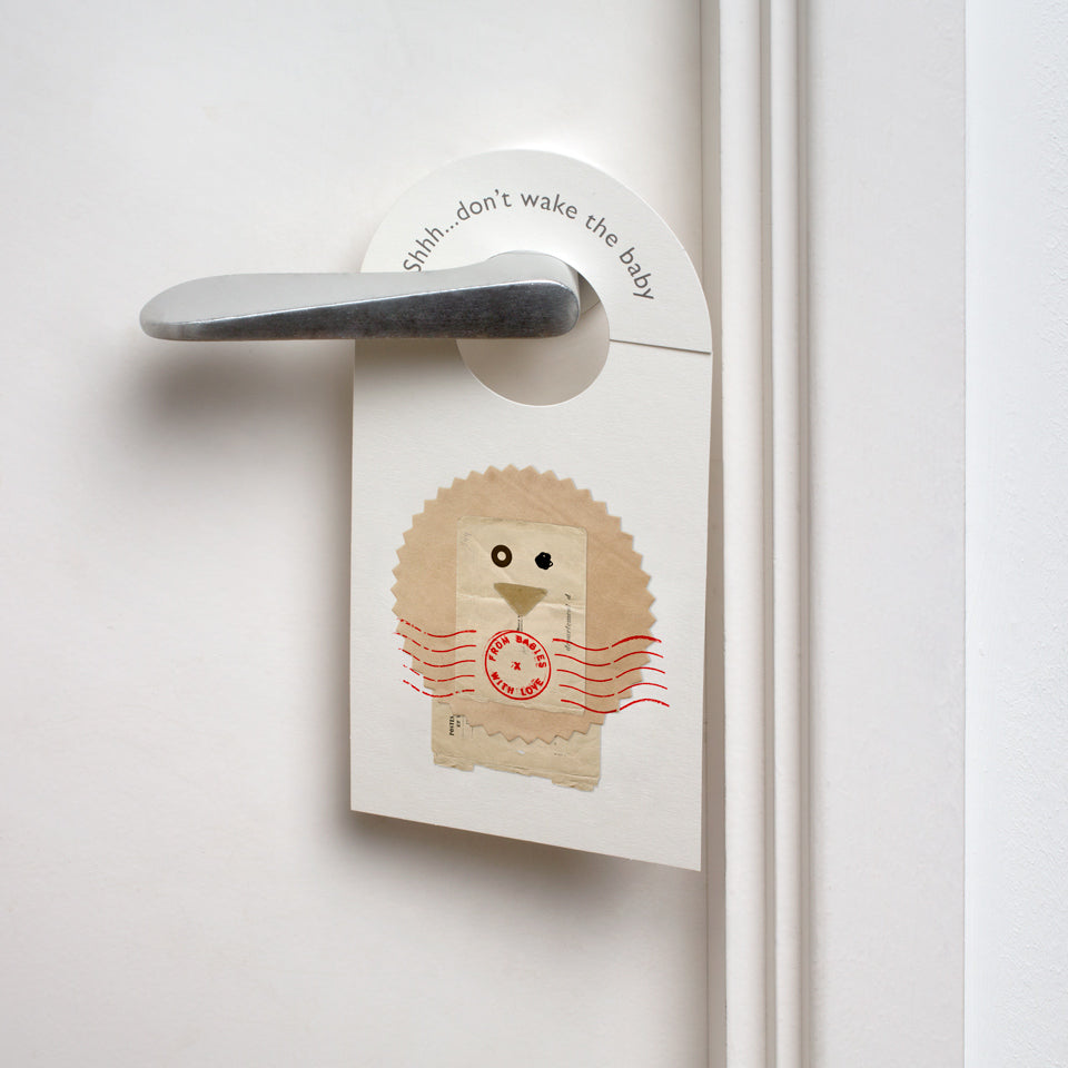 Lion nursery door hanger - From Babies with Love 100% of Profit to Vulnerable Children