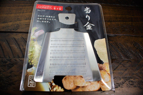 Stainless Steel Japanese Grater / Oroshigane Mini
