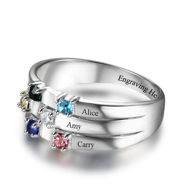 sterling silver ring for her