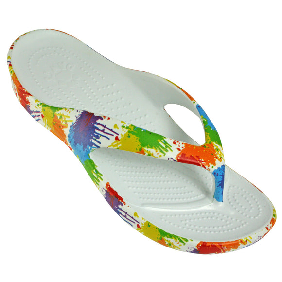 Women's Flip Flop Drop Cloth