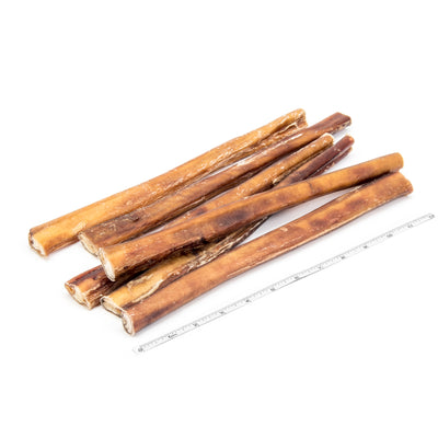 "12"" Ultra Thick Bully Stick - 6pk"