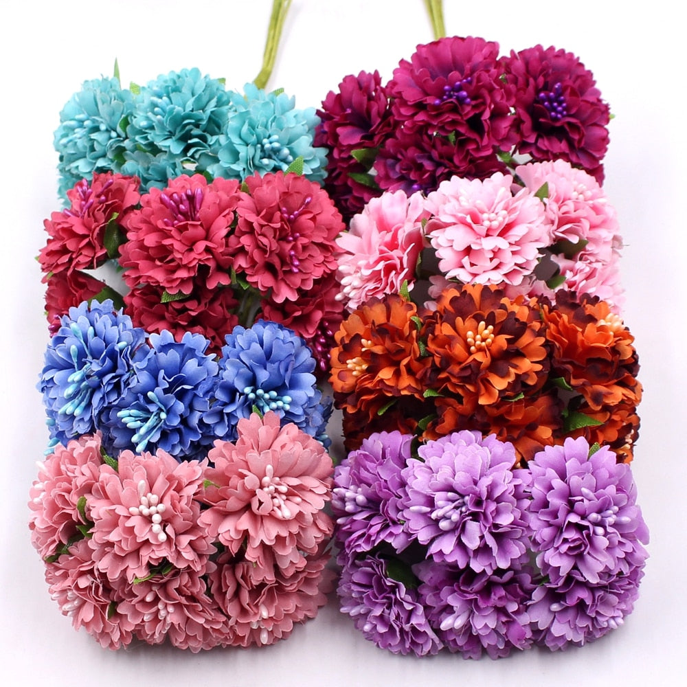 Marigold 6pc Bunch Daisy Bouquet - Rumor Flowers