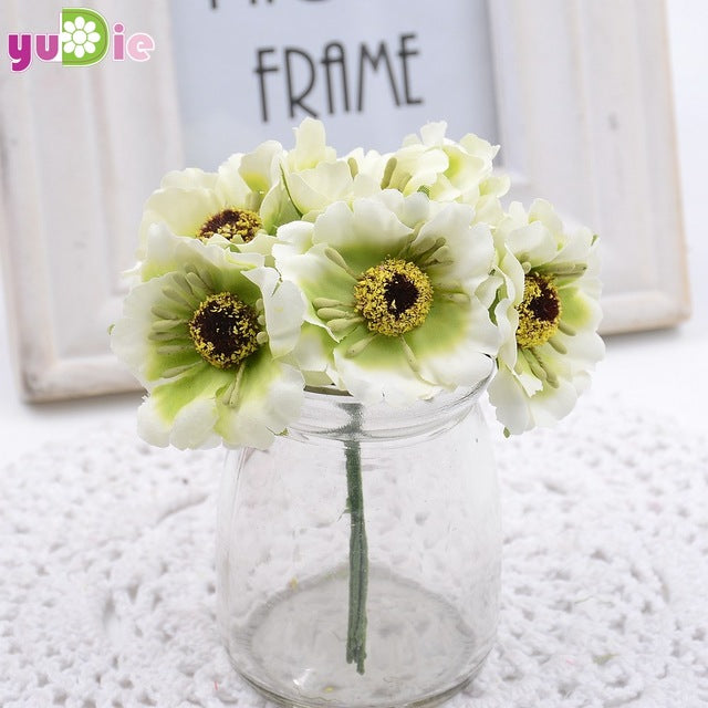 Artificial Poppy Bouquet - Rumor Flowers