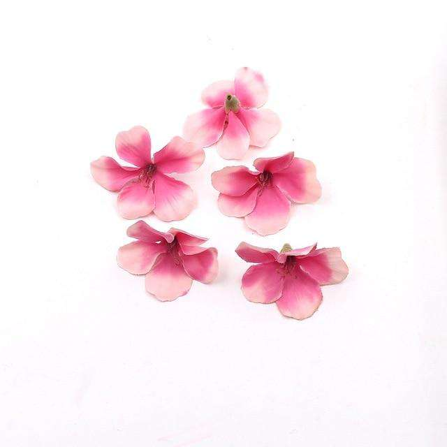 Mini Silk Orchid Head - Rumor Flowers