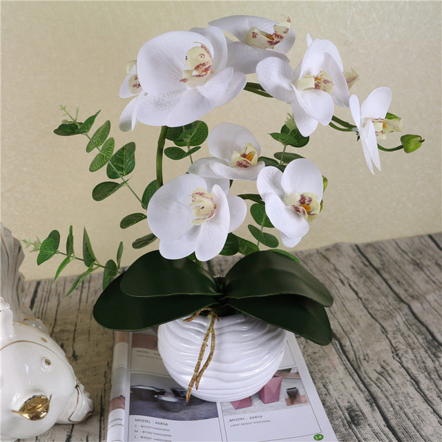 Artificial Orchid Flower (on stem) - Rumor Flowers