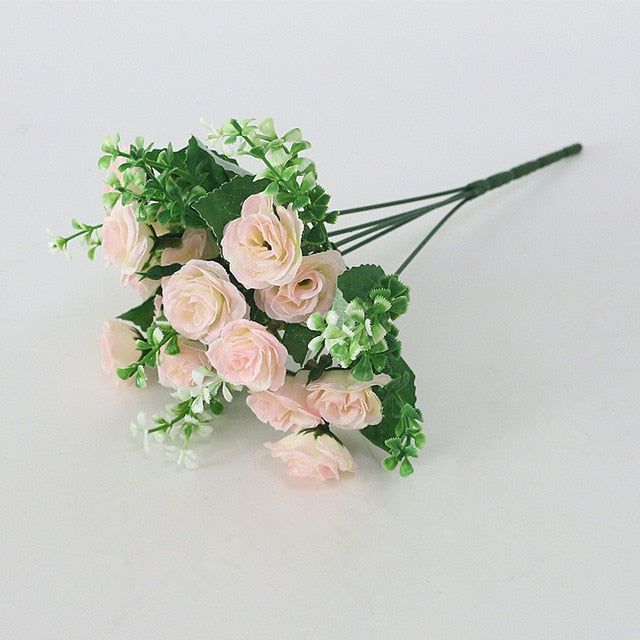 Artificial Rose Silk Flowers / DIY Wedding Bouquet / Artificial Wedding Flowers - Rumor Flowers
