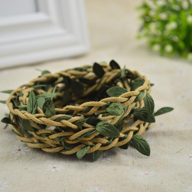 Black - Vine Decoration Wreath - Rumor Flowers