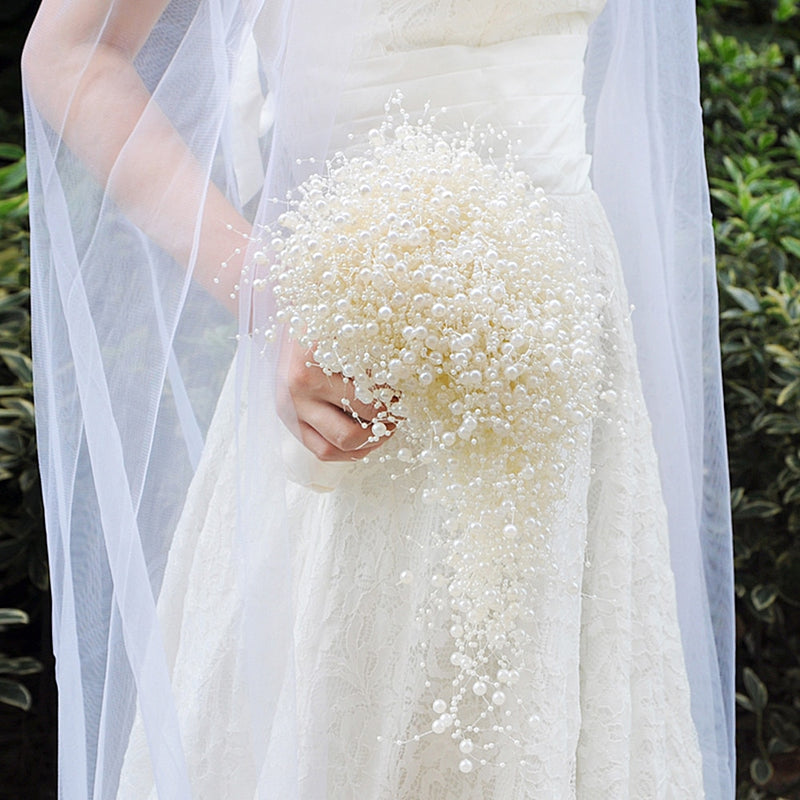 Pure Pearl Bridal Bouquet - Rumor Flowers
