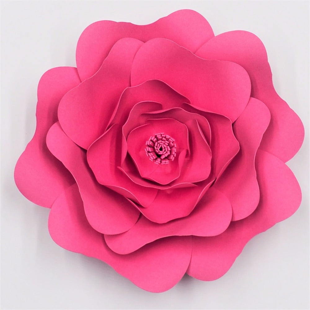 2019 NEWEST! DIY Large Rose Giant Paper Flowers - Rumor Flowers