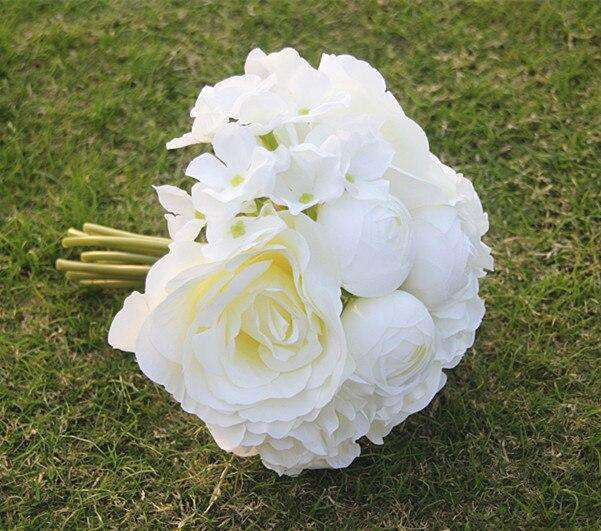 Handmade Wedding Bouquet - Rumor Flowers