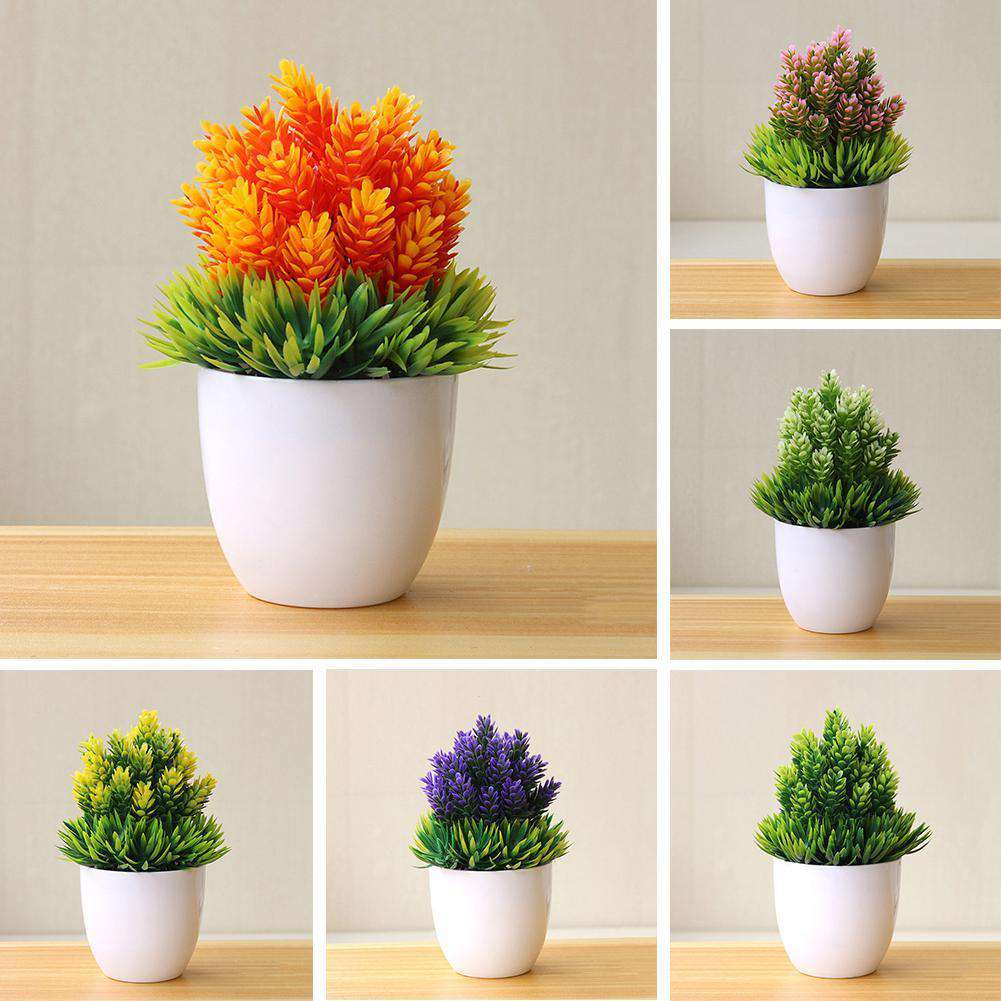Artificial Potted Plant - Rumor Flowers