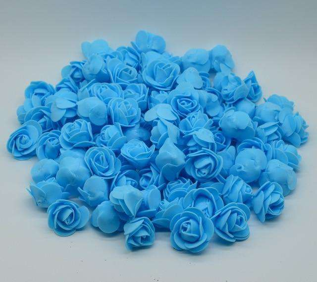 Flower Heads For Flower Ball Centerpieces Foam Rose Heads Bulk Wholesale 100 Flowers Various Colors Wedding Flowers Supplies - Rumor Flowers
