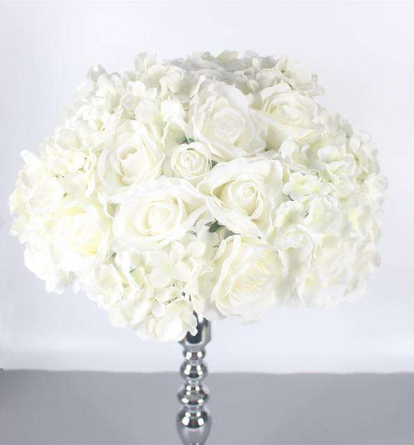 Artificial Silk Centerpiece - Rumor Flowers