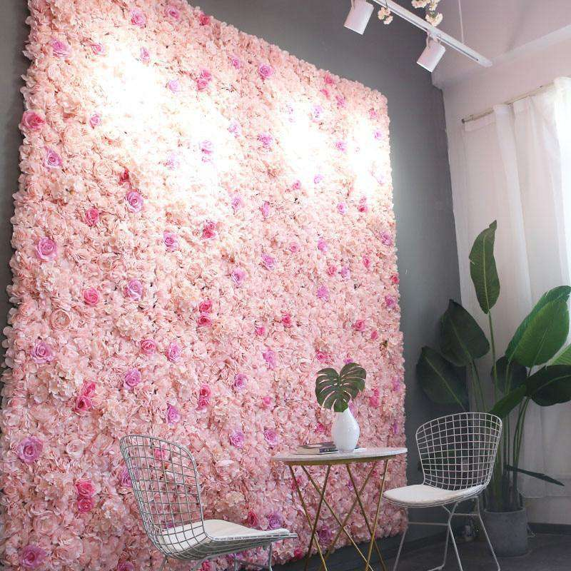 Silk Rose Artificial Flower Wall Decoration - Rumor Flowers