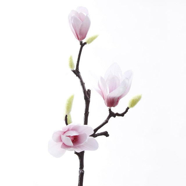 Magnolia Silk Flower - Rumor Flowers