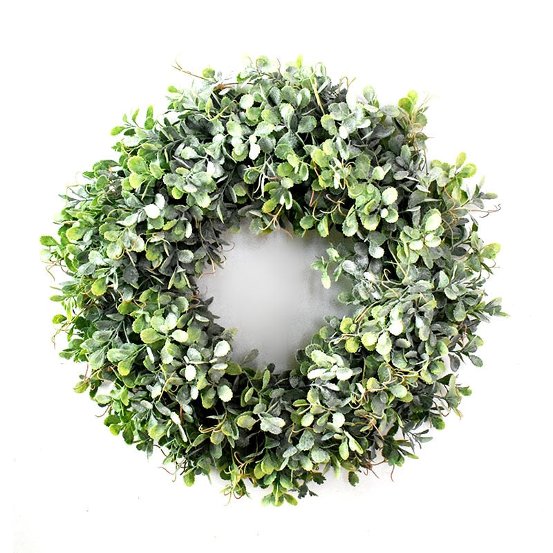 Farmhouse Greenery Wreath - Rumor Flowers
