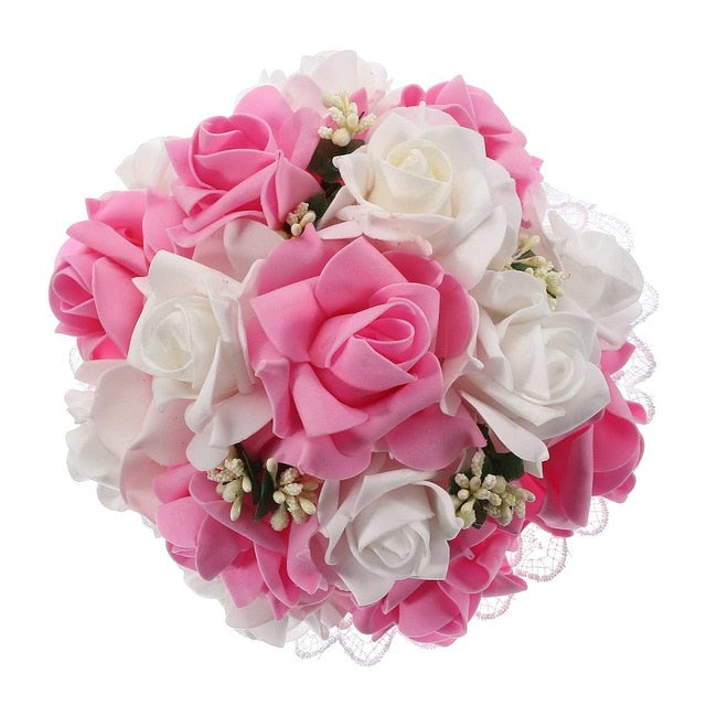 Monochromatic or Variety Wedding Bouquet - Rumor Flowers