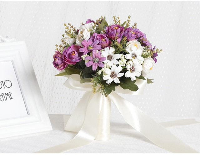European Style Bridal Bouquet - Rumor Flowers