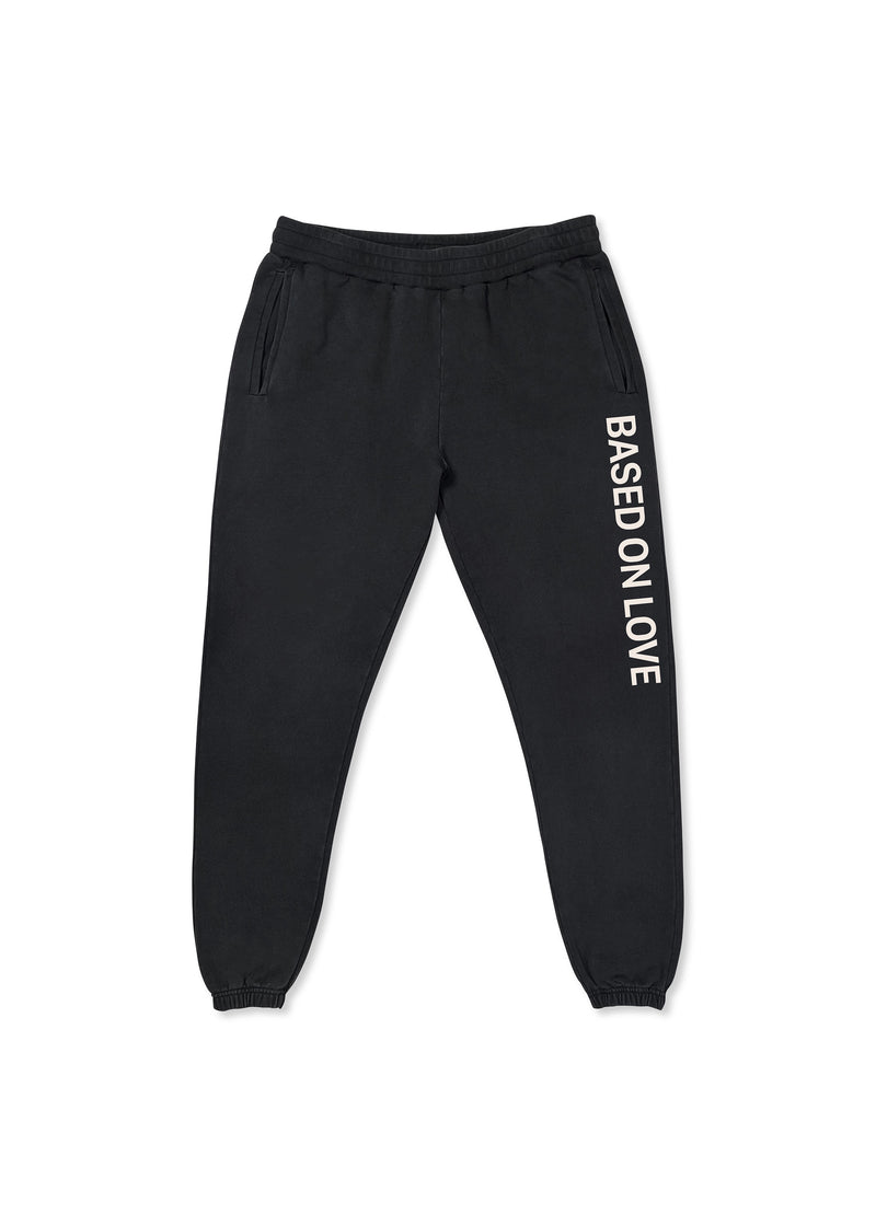 HEAVY LOGO PANTS