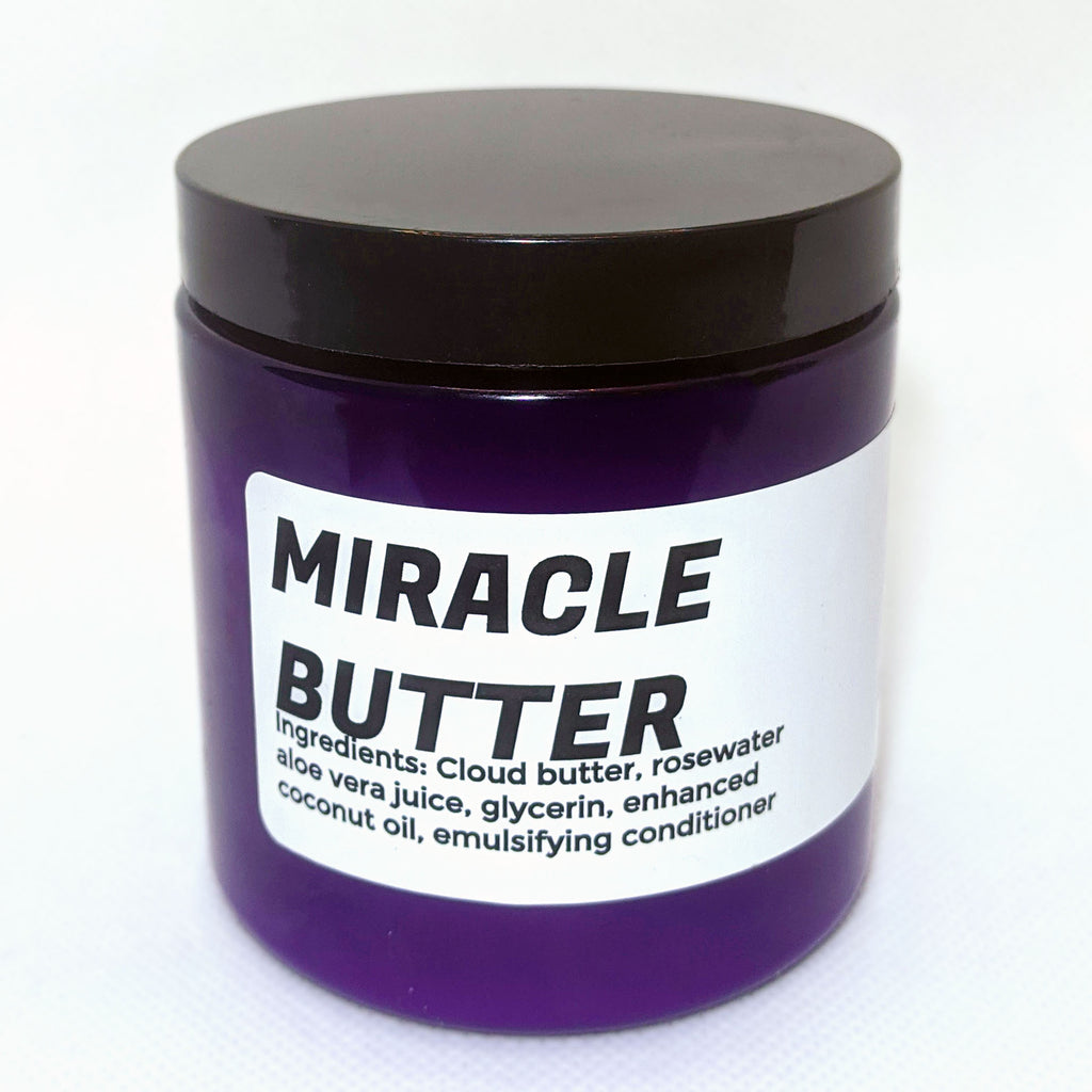Our Ultra Moisturizing Miracle Hair Butter has gotten a new look!