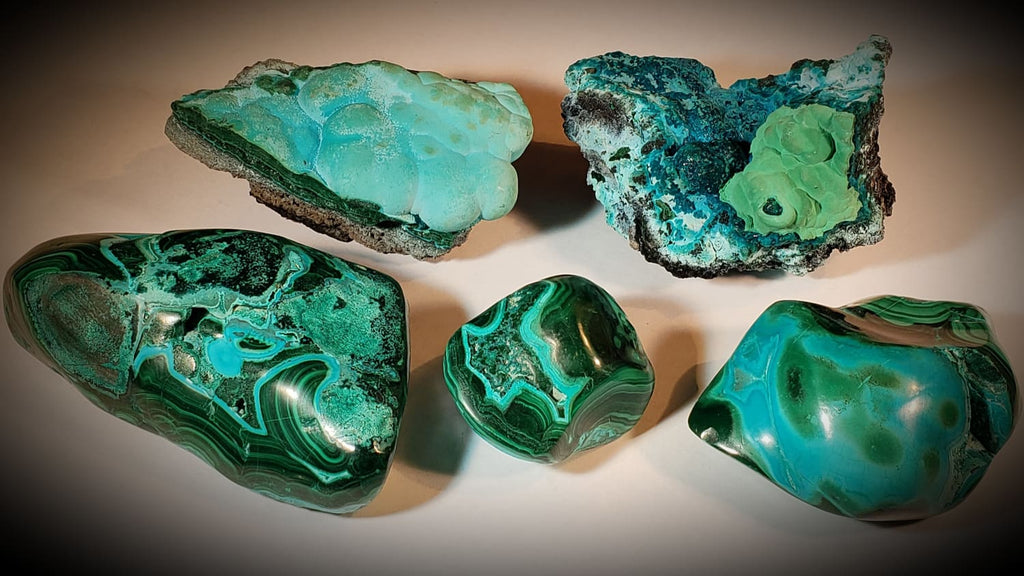 Chrysocolla & Malachite