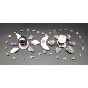 Lunar Phases Crystal Grid Kit