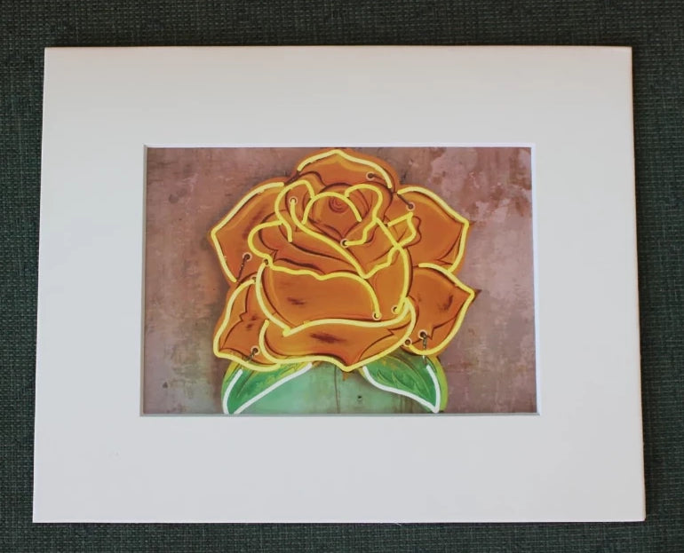 Print: Yellow Rose