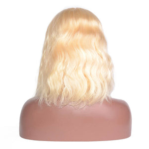 Body Wave - #613 Lace Frontal Bob Wig-Wigs-House of Zettie Hair