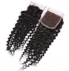 Brazilian Curly Lace Closure-Lace Closures-House of Zettie Hair