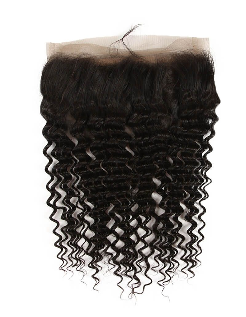 Brazilian Curly Lace Frontal-Lace Frontal-House of Zettie Hair
