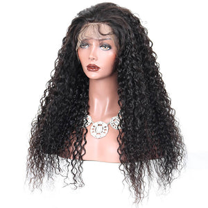 Curly Lace Frontal Wig-Wigs-House of Zettie Hair