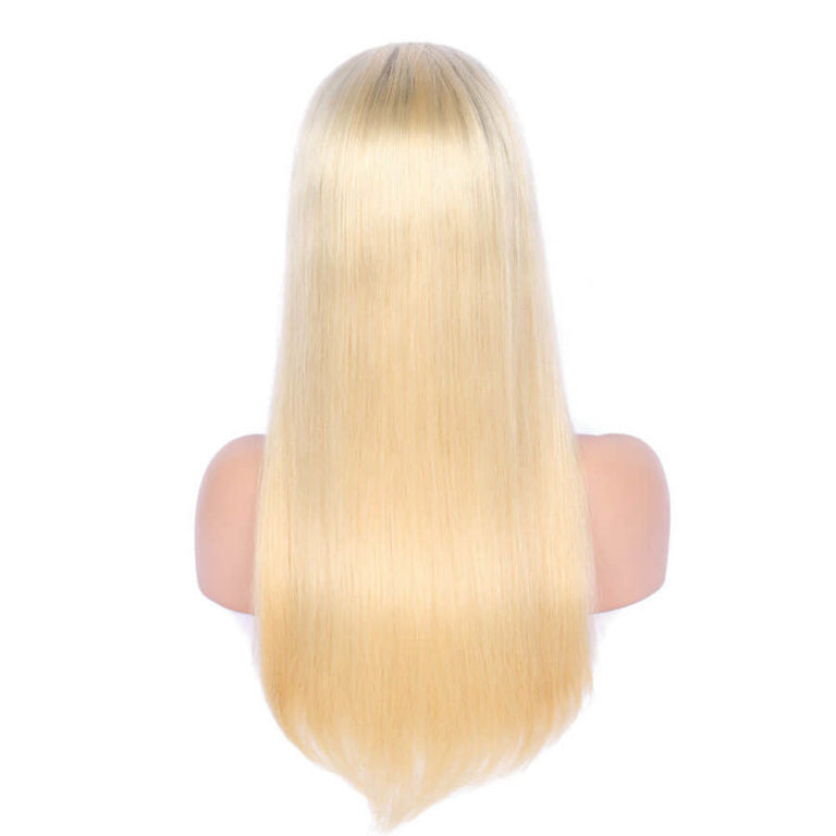 Silky Straight - Full Lace 1b/613 Wig-Wigs-House of Zettie Hair
