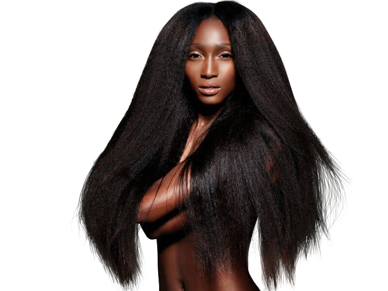 Kinky Straight Hair Extensions-Kinky Straight Hair Extensions-House of Zettie Hair