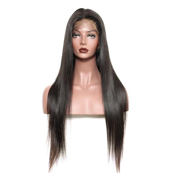 Silky Straight Brazilian Full Lace Wig-Wigs-House of Zettie Hair