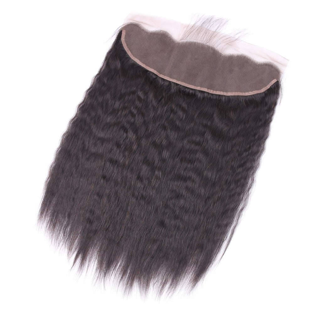 Kinky Straight Lace Frontal-Lace Frontal-House of Zettie Hair