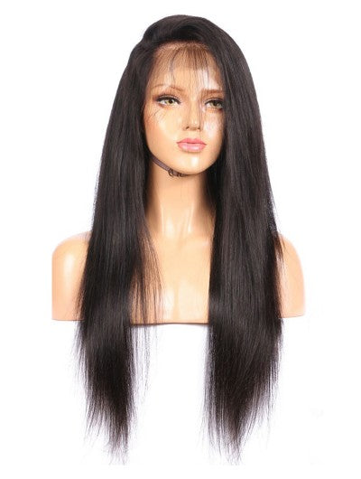 Silky Straight  Transparent Lace Frontal Wig