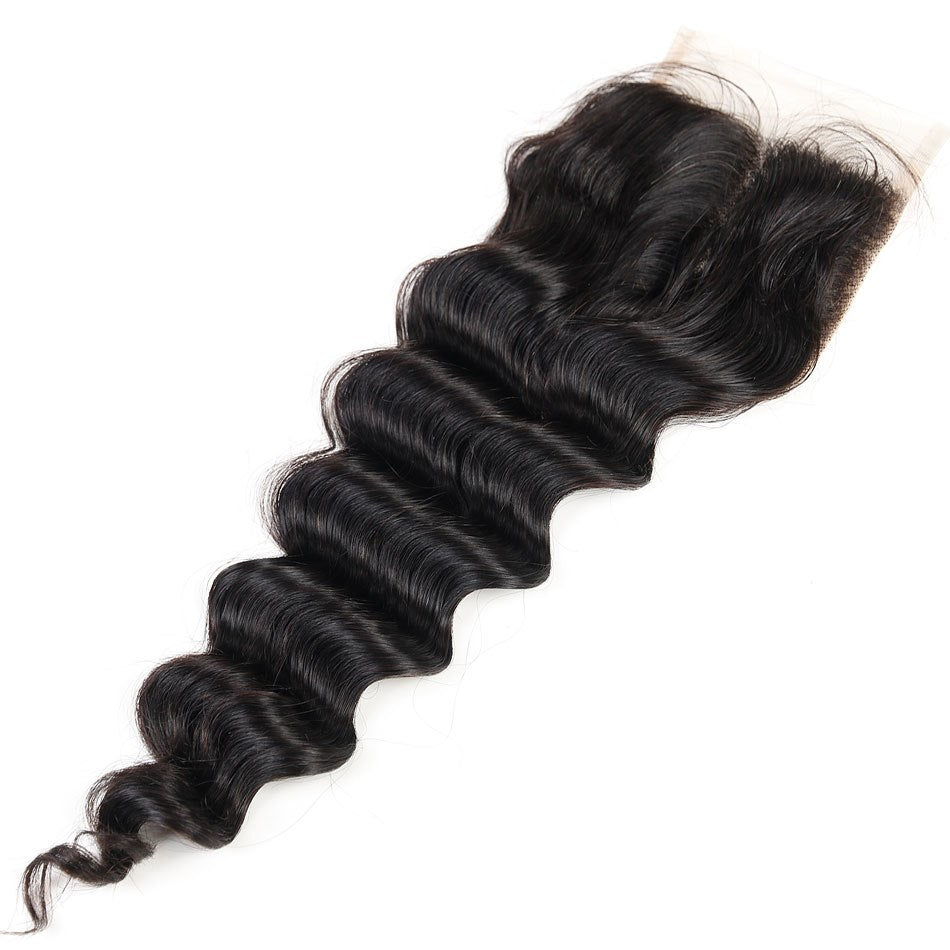 Loose Wave Silk Base Closure-Lace Closures-House of Zettie Hair