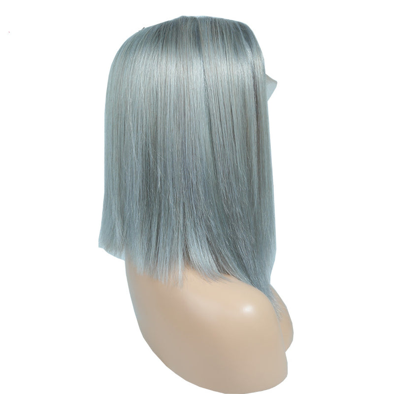 Gray - Lace Frontal Bob Wig