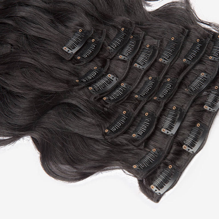 Body Wave Clip-In Hair Extensions