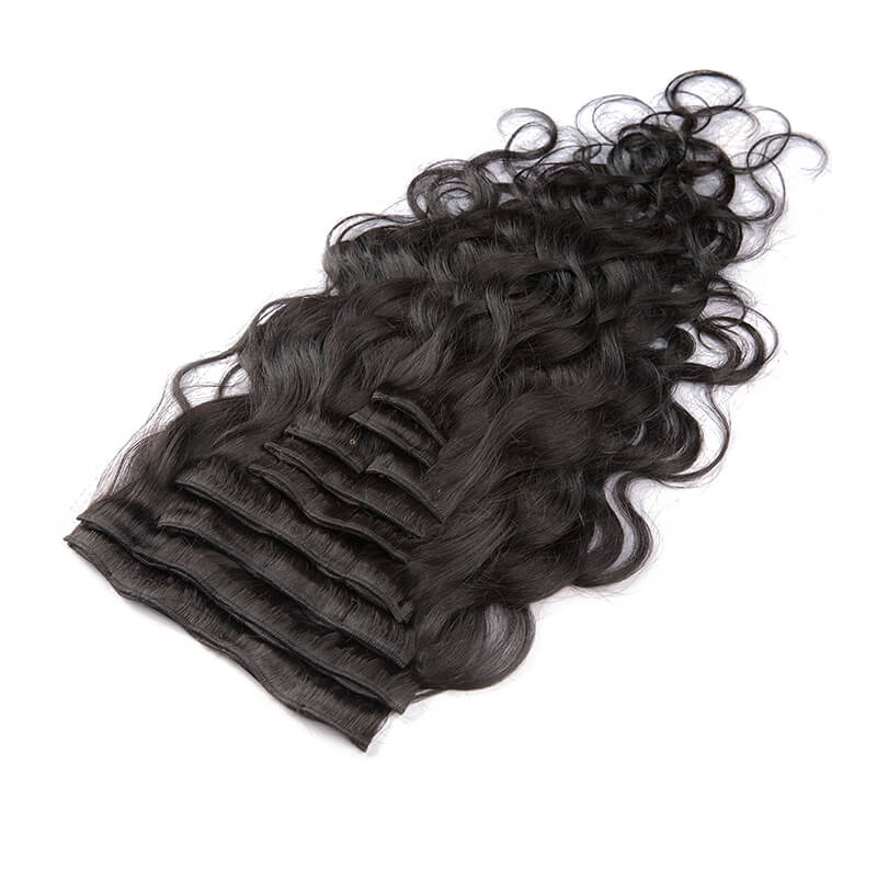 Body Wave Clip-In Hair Extensions-Clip In Extensions-House of Zettie Hair