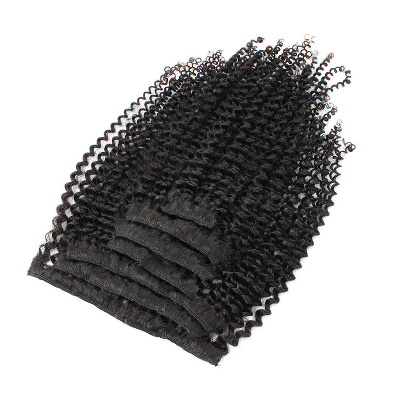 Kinky Curly Clip-In Hair Extensions