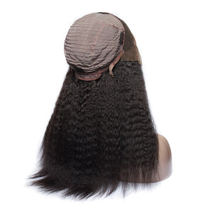 Kinky Straight - Lace Frontal Wig-Wigs-House of Zettie Hair