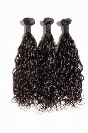 Indian Natural Wave Remy Hair Extensions-Natural Wave Hair Extensions-House of Zettie Hair