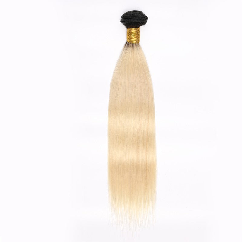 1b/613 Russian Blonde Silky Straight