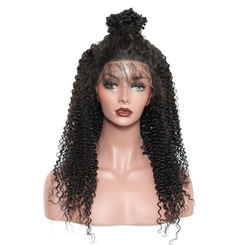 Kinky Curly - Lace Frontal Wig
