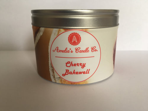 Cherry Bakewell Large Candle - Amelia's Candle Co