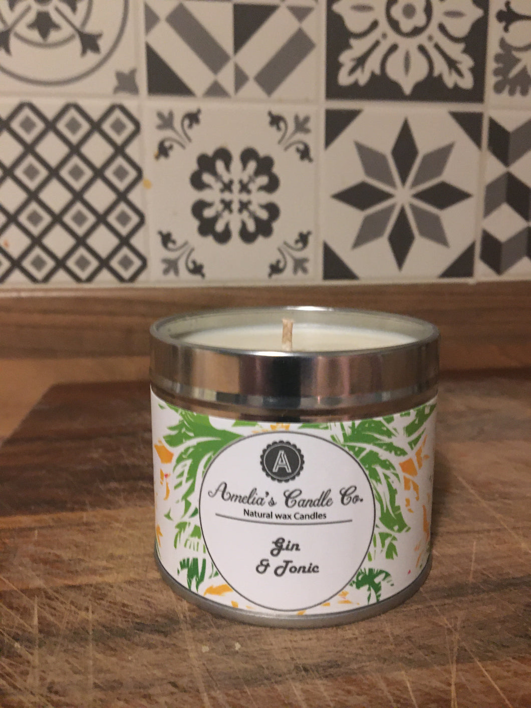 Gin & Tonic Medium Candle